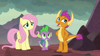 """Smolder """"usually hangs out near here"""" S9E9"""