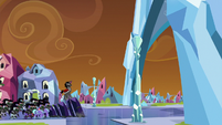 Sombra and his forces approach the palace S9E1
