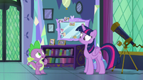 """Spike """"don't you need to get the castle ready"""" S7E1"""