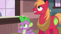 """Spike """"what are you up to tonight?"""" S6E17"""