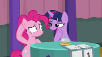 "Twilight ""keep quiet between questions"" S9E16"