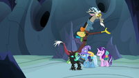 Discord Changeling directing Starlight and friends S6E26