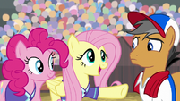 "Fluttershy ""eventually became friends"" S9E6"