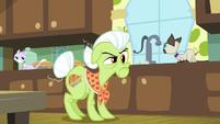 Granny giving Applejack the stink eye S9E10
