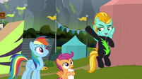 """Lightning Dust """"blew everypony out of the sky"""" S8E20"""