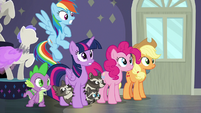 Main four and Spike in complete shock S8E4