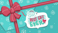 My Little Pony Best Gift Ever title card MLPBGE