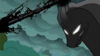 Pony of Shadows blasts magic at Twilight S7E26