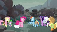 "Rainbow Dash ""we don't need magic"" S8E25"