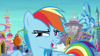 Rainbow Dash -what would be really fun-- S8E5