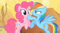 Rainbow Dash Shushing Pinkie Pie 2 S1E21
