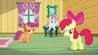 Scootaloo 'I still can't believe she ruined our pumpkin float' S3E04