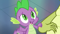 """Spike """"is there anything you always"""" S8E24"""