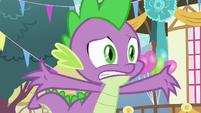 Spike -ruin Equestria as we know it!- S7E15