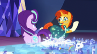 "Sunburst ""on a mission together!"" S8E8"