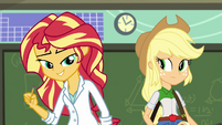 "Sunset Shimmer ""rolling up my sleeves"" EG3"