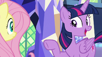 "Twilight ""teamed up the same ponies"" S8E23"