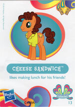 Wave 11 Cheese Sandwich collector card