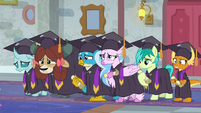 Young Six looking disappointed S8E26