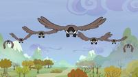 Birds flying S5E5
