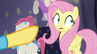 Fluttershy starting to sweat S8E4