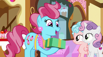 "Mrs. Cake ""what a lovely surprise!"" S8E12"