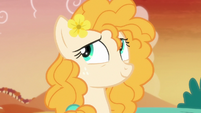 Pear Butter rolls her eyes at Bright Mac S7E13