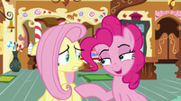 "Pinkie ""that's why nopony expects it"" S8E2"