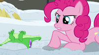 """Pinkie Pie """"here to help in a pony's heartbeat"""" S7E11"""