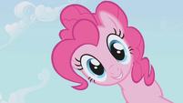 Pinkie Pie looks down S1E03