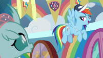 "Rainbow Dash ""okay, good practice!"" S9E15"