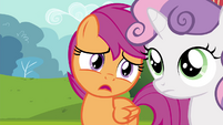 """Scootaloo """"for learning skills to be big shots"""" S4E15"""