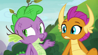"""Spike """"not now, of course"""" S8E24"""