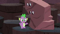 Spike --and I stopped glowing-- S6E5