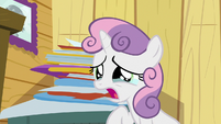 "Sweetie Belle crying ""how?!"" S9E12"