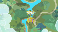Twilight and Spike go to Ponyville S1E1