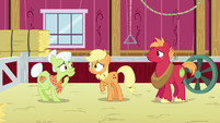 "Applejack ""it's startin' to infect ponies now!"" S6E23"