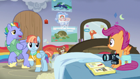 Bow Hothoof offers to show Scootaloo something S7E7