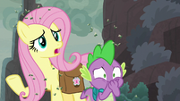 """Fluttershy """"magic to keep them cold"""" S8E25"""