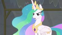 "Princess Celestia ""you insulted my acting"" S8E7"