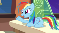 """Rainbow """"traded it for something way better"""" S4E22"""