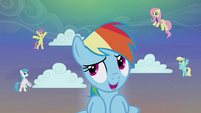 Rainbow Dash 'Gonna make some awesome snow' S06E08