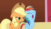 Rainbow Dash facehoof S3E3