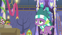 Spike disappointed by Twilight's words MLPBGE