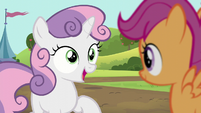 Sweetie -at least I get to be here and cheer you on!- S5E17