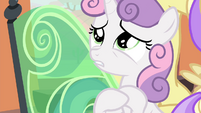 Sweetie Belle -save my sister from a horrible future- S4E19