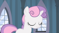 Sweetie Belle nodding to Luna S4E19