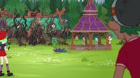 Transformed Gloriosa menacing Camp Everfree EG4