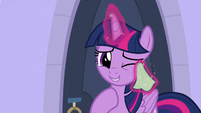 Twilight Sparkle wiping her tears S9E25