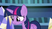 Twilight sympathizing with Rockhoof S8E21